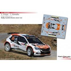 Armindo Araújo - Skoda Fabia R5 Evo - Rally Castelo Branco 2020