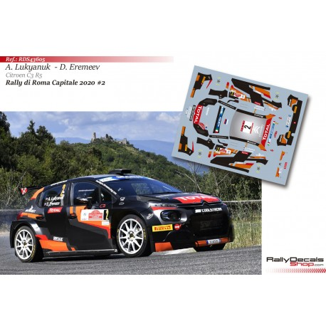 Alexey Lukyanuk - Citroen C3 R5 - Rally Roma 2020