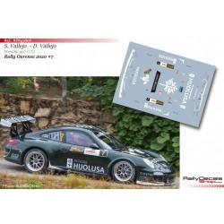 Sergio Vallejo - Porsche 997 GT3 - Rally Ourense 2020