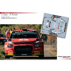 Pepe Lopez - Citroen C3 R5 - Rally Ourense 2020