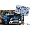 Julien Maurin - Ford Fiesta RRC - Rally Montecarlo 2014