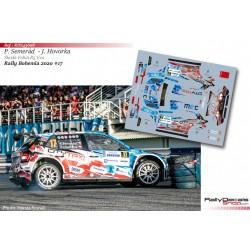 Petr Semerád - Skoda Fabia R5 Evo - Rally Bohemia 2020
