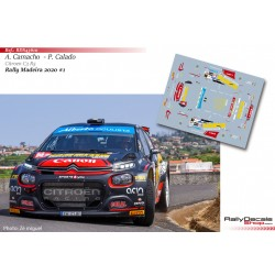 Alexandre Camacho - Citroen C3 R5  Rally Madeira 2020