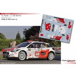 Dani Sordo - Hyundai i20 R5 - Rally di Alba 2020
