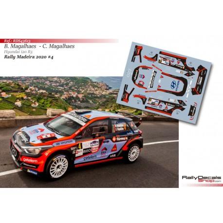 Bruno Magalhaes - Hyundai i20 R5 - Rally Madeira 2020
