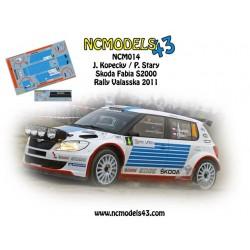 Jan Kopecky - Skoda Fabia S2000 - Bonver Valasska Rally 2011