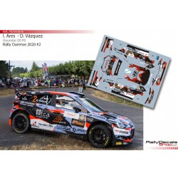 Ivan Ares - Hyundai i20 R5 - Rally Ourense 2020