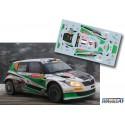 Mathieu Margaillán - Skoda Fabia S2000 - Rally Montecarlo 2014