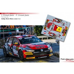 Jérome Grosset-Janin - VW Polo R5 - Rally Mont Blanc 2020