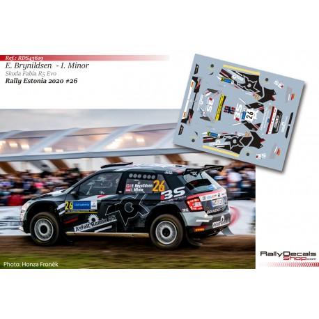 Eyvind Brynildsen - Skoda Fabia R5 Evo - Rally Estonia 2020
