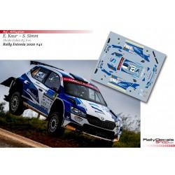 Egon Kaur - Skoda Fabia R5 Evo - Rally Estonia 2020