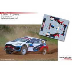 Roland Poom - Ford Fiesta R5 MKII - Rally Estonia 2020