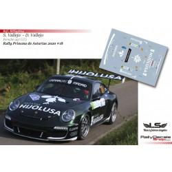 Sergio Vallejo - Porsche 997 GT3 - Rally Princesa de Asturias 2020