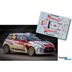 Sebastien Chardonnet - Citroen DS3 R3T - Rally Montecarlo 2014