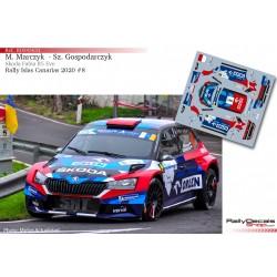 Mikolaj Marczyk - Skoda Fabia R5 Evo - Rally Islas Canarias 2020