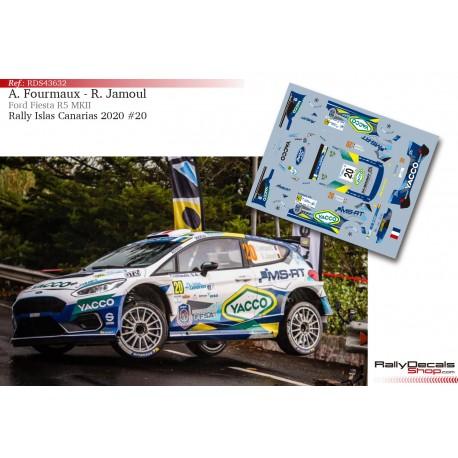 Adrien Fourmaux - Ford Fiesta R5 MKII - Rally Islas Canarias 2020