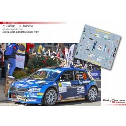 Nil Solans - Skoda Fabia R5 Evo - Rally Islas Canarias 2020