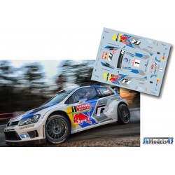 Sebastien Ogier - VW Polo R WRC - Rally Montecarlo 2014