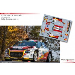 Efren Llarena - Citroen C3 R5 - Rally Hungary 2020