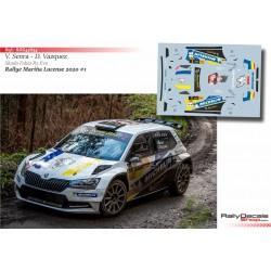 Victor Senra - Skoda Fabia R5 Evo - Rally Mariña Lucense 2020