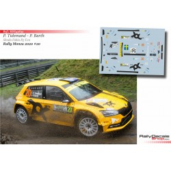Pontus Tidemand - Skoda Fabia R5 Evo - Rally Monza 2020