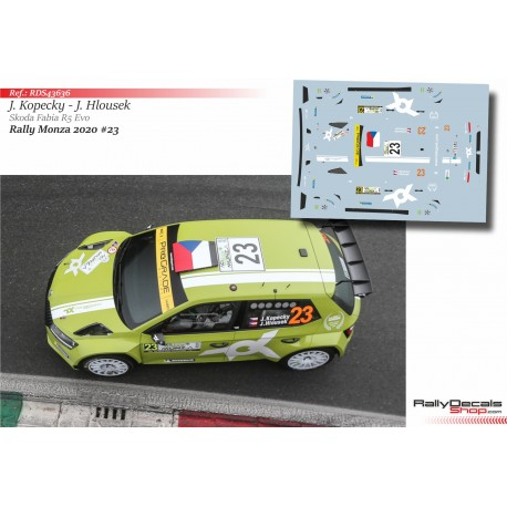 Jan Kopecky - Skoda Fabia R5 Evo - Rally Monza 2020