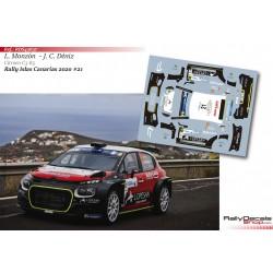 Luis Monzón - Citroen C3 R5 - Rally Islas Canarias 2020