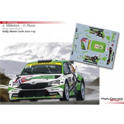 Andreas Mikkelsen - Skoda Fabia R5 Evo - Rally Monte Carlo 2021