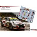 Enrico Brazzoli - Skoda Fabia R5 - Rally Monte Carlo 2021