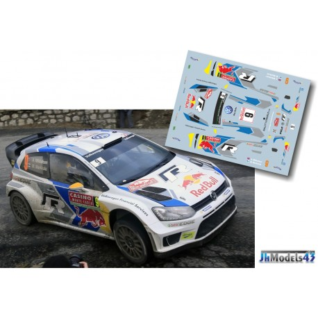 Andreas Mikkelsen - VW Polo R WRC - Rally Montecarlo 2014