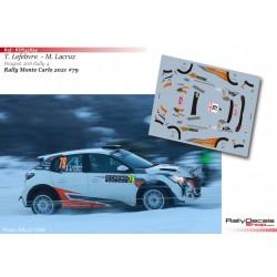 Thibault Lefebvre - Peugeot 208 Rally 4 - Rally Monte Carlo 2021
