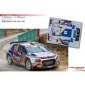 Sean Johnston - Citroen C3 R5 - Rally Monte Carlo 2021