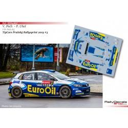 Václav Pech - VW Polo R5 - TipCars Prazsky Rallysprint 2019