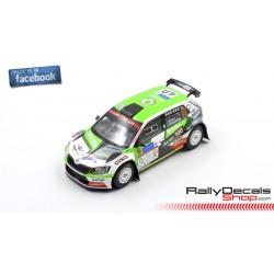 Skoda Fabia R5 - Rainer Aus - Rally Estonia 2020