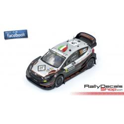 Ford Fiesta WRC - Lorenzo Bertelli - Rally Sweden 2019