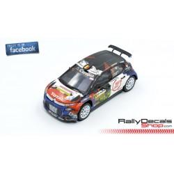 Citroen C3 R5 - Xavier Baugnet - Rally Condroz 2018