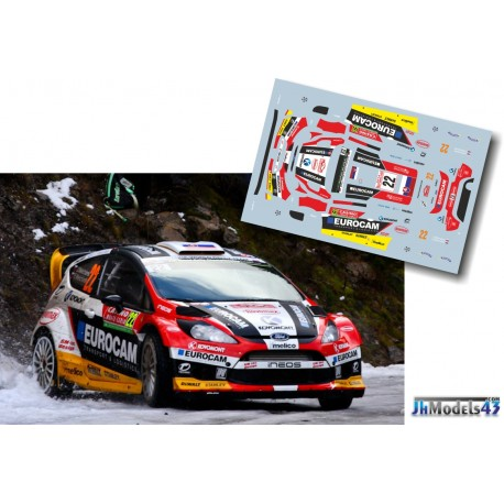 Jaroslav Melicharek - Ford Fiesta RS WRC - Rally Montecarlo 2014