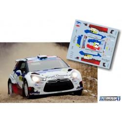 Bryan Bouffier - Citroen DS3 RRC - Rally Liepaja 2014