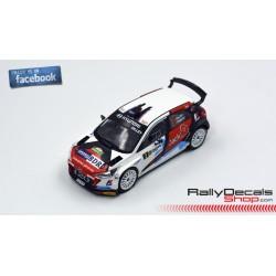 Hyundai i20 R5 - Guillaume Dilley - Rally Condroz 2016