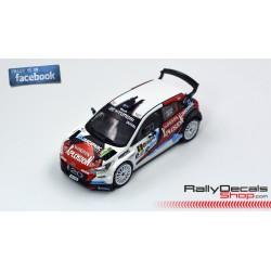 Hyundai i20 R5 - François Duval - Rally Condroz 2016