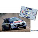 Craig Breen - Peugeot 207 S2000 - Rally Liepaja 2014