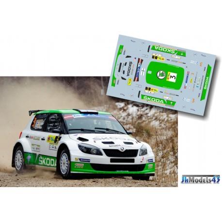 Esapekka Lappi - Skoda Fabia S2000 - Rally Liepaja 2014