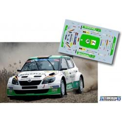 Sepp Wiegand - Skoda Fabia S2000 - Rally Liepaja 2014