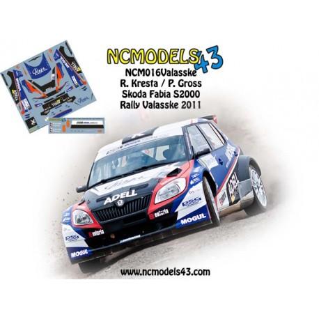 Roman Kresta - Skoda Fabia S2000 -Bonver Valasska Rally 2011