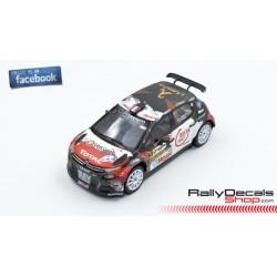 Citroen C3 R5 - Stéphane Lefebvre - Rally Condroz 2018