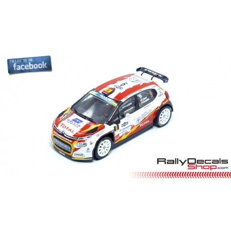 Citroen C3 R5 - Efren Llarena - Rally Hungary 2020