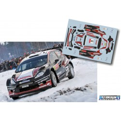 Ott Tanak - Ford Fiesta RS WRC - Rally Sweden 2014