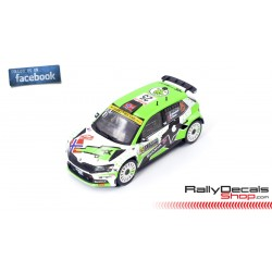 Skoda Fabia R5 Evo - Andreas Mikkelsen - Rally MonteCarlo 2021