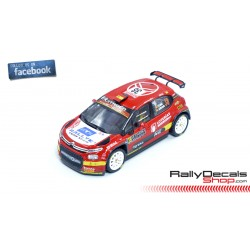 Citroen C3 R5 - Pepe López - Rally MonteCarlo 2020