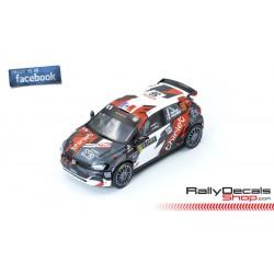 VW Polo R5 - Bertrand Pierrat - Rally MonteCarlo 2020
